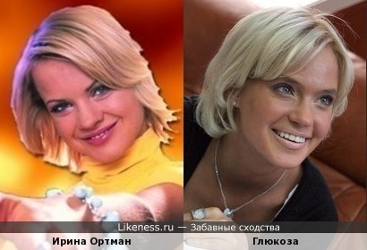 Ирина Ортман и Глюкоза )