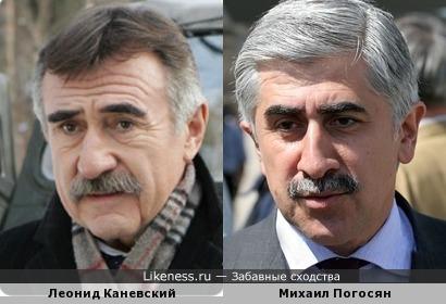 Михаил Погосян напомнил Леонида Каневского
