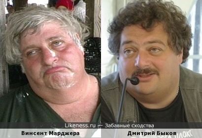 Винсент Марджера Напомнил Дмитрия Быкова )