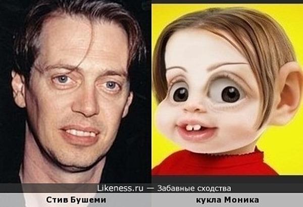 Кукла Моника похожа на Стива Бушеми
