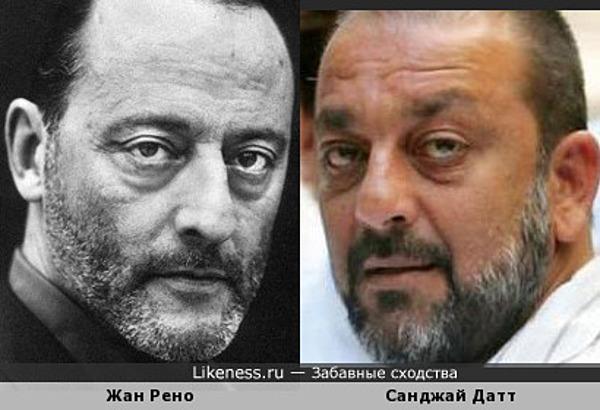 Жан Рено и Санджай Датт