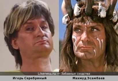 Игорь Серебряный в образе похож на Махмуда Эсамбаева