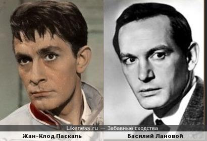 Жан-Клод Паскаль и Василий Лановой