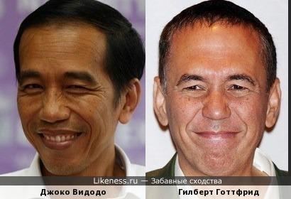Новый президент Индонезии и Гилберт Готтфрид