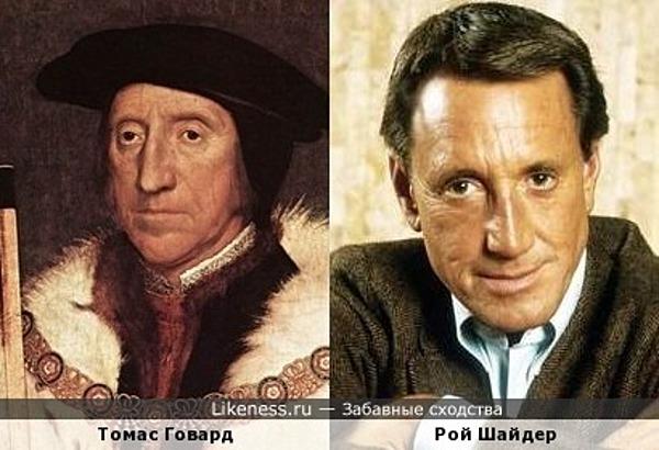 Рой Шайдер на портрете Ганса Гольбейна