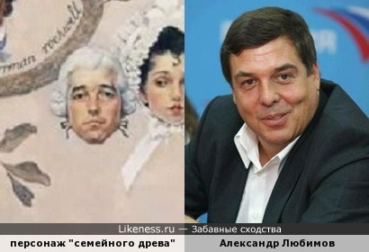 "Персонаж ""Семейного древа"