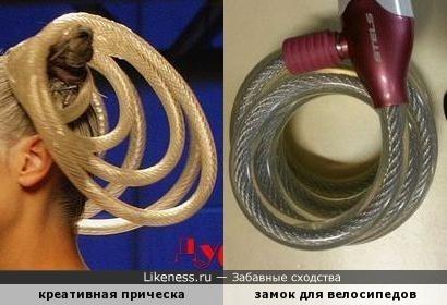 Противоугонная прическа )