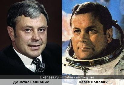 Павел Попович напомнил Донатаса Баниониса