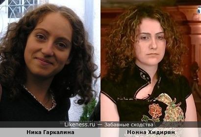 Дочь Валерия Гаркалина Ника похожа на экстрасенса Нонну Хидирян