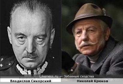 Владислав Сикорский напомнил Николая Крюкова