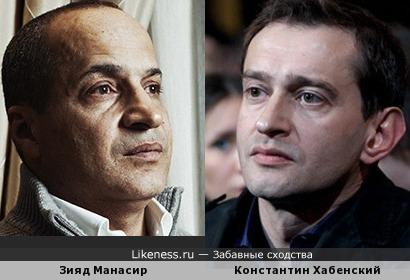 Зияд Манасир и Константин Хабенский
