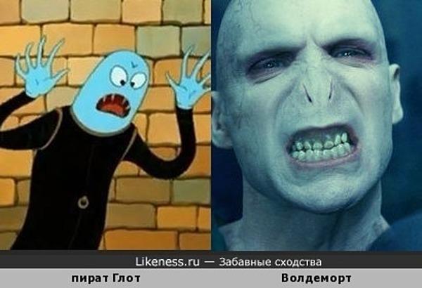 Волдеморт до встречи с Гарри Поттером пиратствовал в космосе