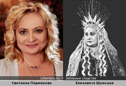 Елизавета Шумская напомнила Светлану Пермякову