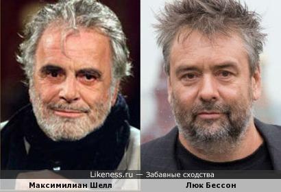 Максимилиан Шелл и Люк Бессон