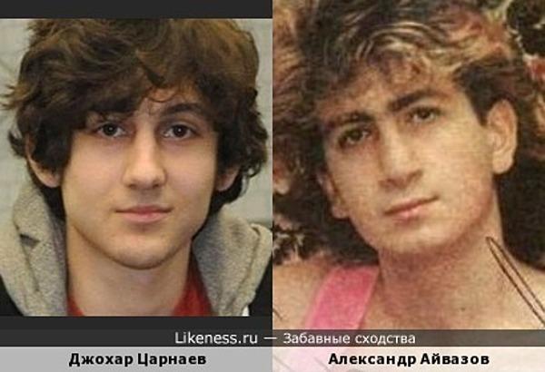 Александр Айвазов и Джохар Царнаев