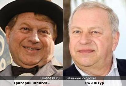 Григорий Шпигель и Ежи Штур