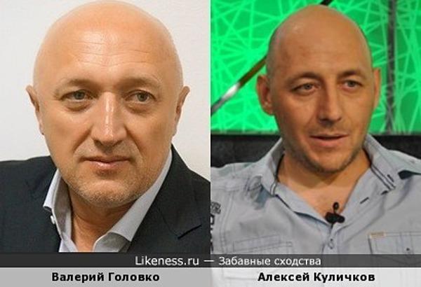 Губернатор Полтавской области (Украина) Валерий Головко и телеведущий Алексей Куличков