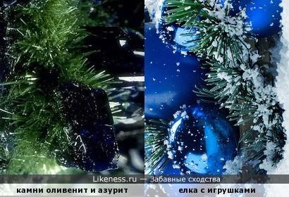 Новогоднее сходство ) Всех друзей с Наступившим и с Рождеством! )