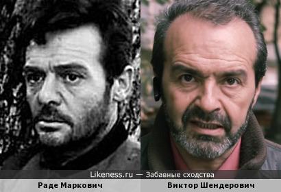 Раде Маркович напомнил Виктора Шендеровича