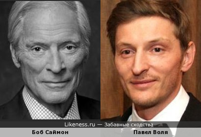 Боб Саймон и Павел Воля
