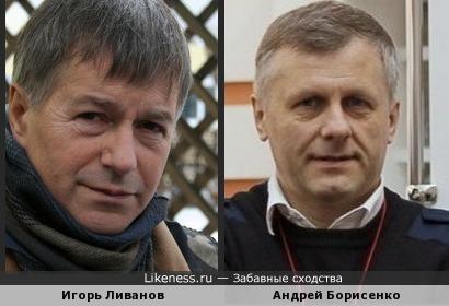Андрей Борисенко напомнил Игоря Ливанова