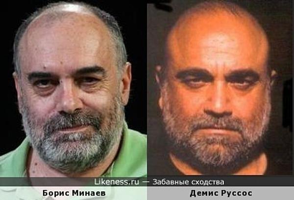 Борис Минаев сильно напомнил Демиса Руссоса