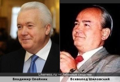 Владимир Олейник напомнил Всеволода Шиловского