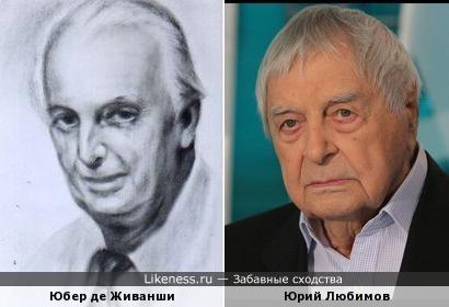 Юбер де Живанши на картине напомнил Юрия Любимова