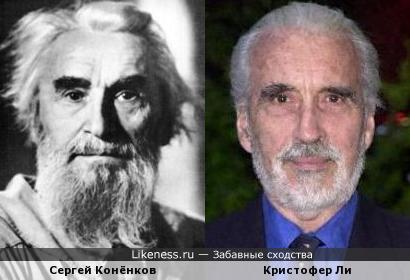 Бородатые чернобровые старцы...