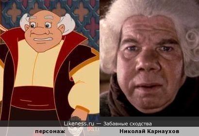 Персонаж из мультфильма напомнил Николая Карнаухова