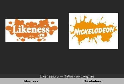 Оранжевое лого этого сайта напоминает логотип канала Nikelodeon