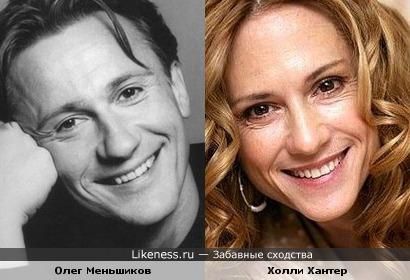 Меньшиков и Холли Хантер похожи