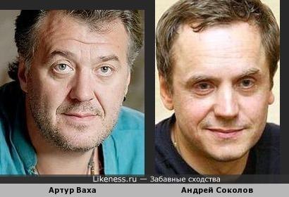 Артур Ваха и Андрей Соколов