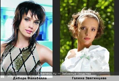 сходство актрис