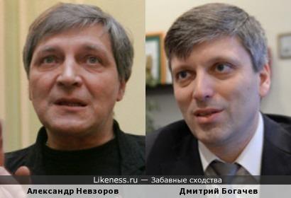 Александр Невзоров и Дмитрий Богачев
