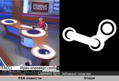 Студийный стол тол напомнил логотип