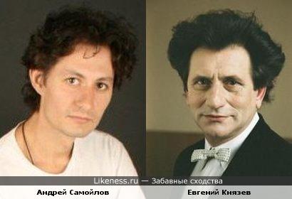 Андрей Самойлов похож на Евгения Князева