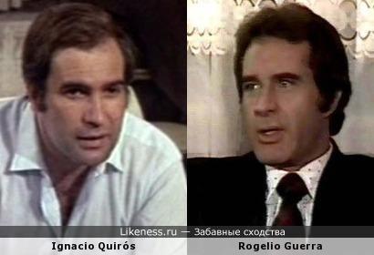 Ignacio Quirós и Rogelio Guerra