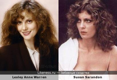 Lesley Anne Warren и Susan Sarandon