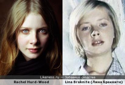 Rachel Hurd-Wood и Lina Braknite