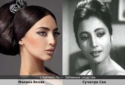 Мелике ялова на likeness ru 7 сходств