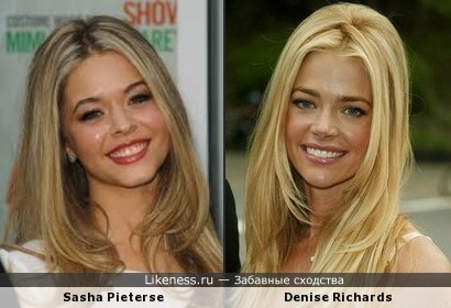 Sasha Pieterse и Denise Richards