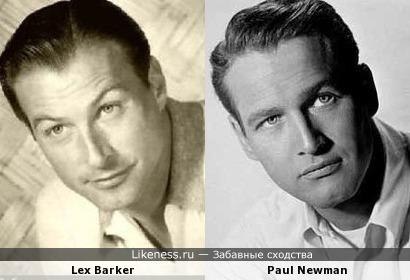 Lex Barker и Paul Newman