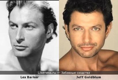 Jeff Goldblum и Lex Barker