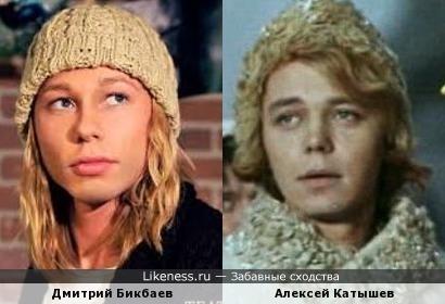 Дмитрий Бикбаев и Алексей Катышев