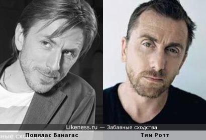 Повилас Ванагас и Тим Ротт