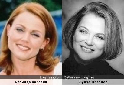 Белинда Карлайл и Луиза Флетчер