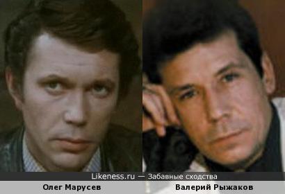 Олег Марусев и Валерий Рыжаков