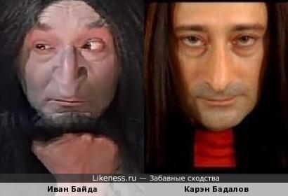 Иван Байда и Карэн Бадалов