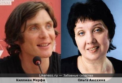 Ольга Анохина и Киллиан Мерфи